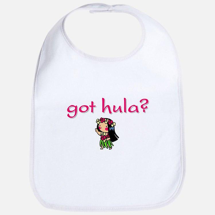 got hula? (D) Bib