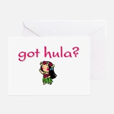 got hula? (D) Greeting Cards (Pk of 10)