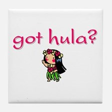 got hula? (D) Tile Coaster
