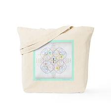 Two Mandalas Tote Bag