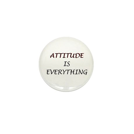 Attitude Is Everything Mini Button (10 pack)