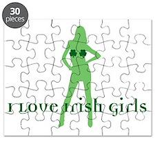 I Love Irish Girls Puzzle