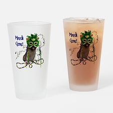MardiGrasCairn Drinking Glass