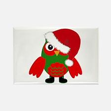 Santa Owl Magnets