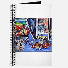 Schnauzer Busy House Journal