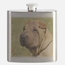 Shar Pei 9L039D-06 Flask