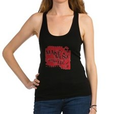 make-music-not-hate-red.gif Racerback Tank Top
