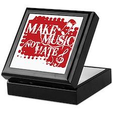 make-music-not-hate-red.gif Keepsake Box