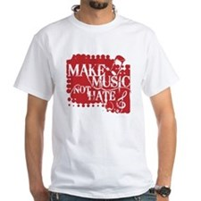 make-music-not-hate-red.gif Shirt