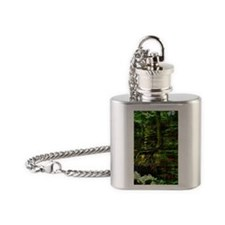 clinging to life Flask Necklace