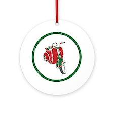 Vespa-Italiano.gif Round Ornament