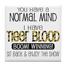 tiger_blood_01 Tile Coaster
