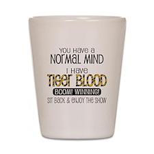 tiger_blood_01 Shot Glass