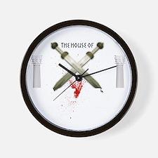 spartacusshirt_black Wall Clock