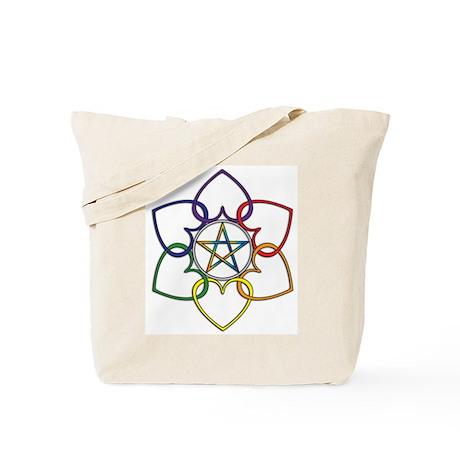 Poly Pagan and Proud Tote Bag