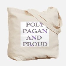 Poly Pagan and Proud Tote Bag