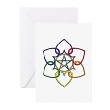 Poly Pagan and Proud Greeting Cards (Pk of 10)