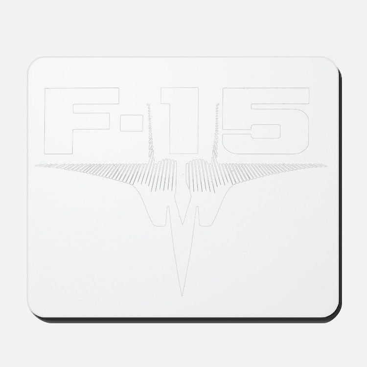 eaglelogowhite Mousepad