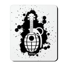 Ukulele Grenade Mousepad