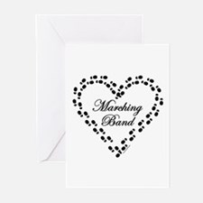 Marching Band Greeting Cards (Pk of 10)