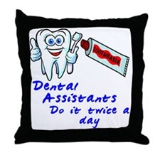 DentalAssistantLight Throw Pillow