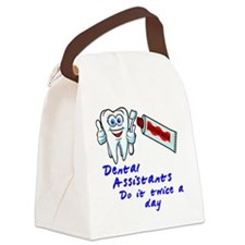 DentalAssistantLight Canvas Lunch Bag