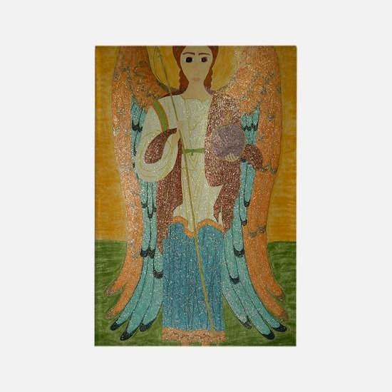 Saint Michael Rectangle Magnet