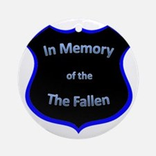 fallen2 Round Ornament