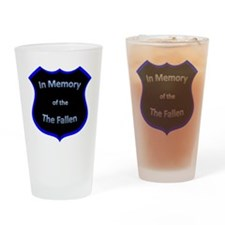 fallen2 Drinking Glass
