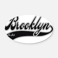 BROOKLYN NEW YORK Oval Car Magnet