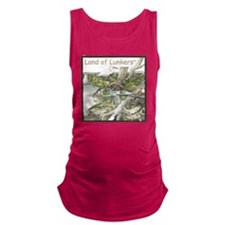 SF-009Land of LunkersTM Maternity Tank Top