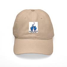 Ib in Blue Baseball Cap