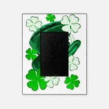 Irish Hat and ShamrocksTrans Picture Frame