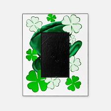 Irish Hat and ShamrocksTrans Picture Frame