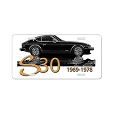 S30-splash-1969-editionB-W Aluminum License Plate