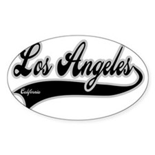 LOS ANGELES CALIFORNIA Decal