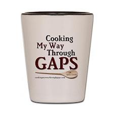 Cooking My Way Through GAPS Square Shot Glass