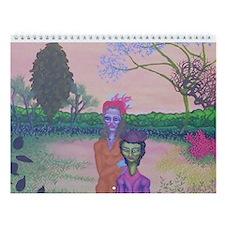 Couple Wall Calendar