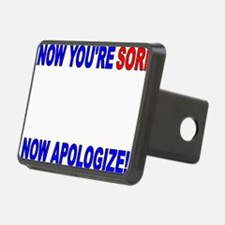 I Know Youre Sorry (clock  Hitch Cover