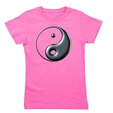 ying yang  Girl's Tee