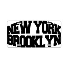 NEW YORK BROOKLYN Aluminum License Plate