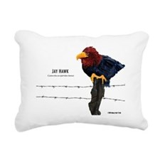 Jay_Hawk_None Rectangular Canvas Pillow