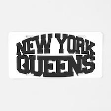 NEW YORK QUEENS Aluminum License Plate