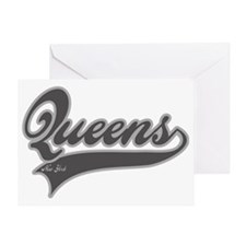 QUEENS NEW YORK Greeting Card