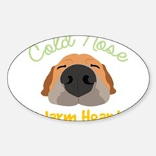 Cold Nose Warm Heart Decal