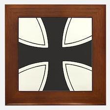 iron cross Framed Tile