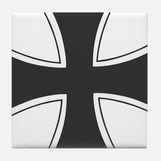 iron cross Tile Coaster