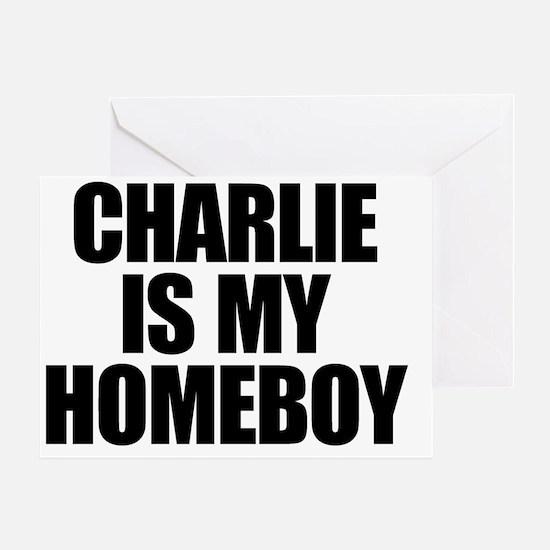 charlieismyhomeboy Greeting Card