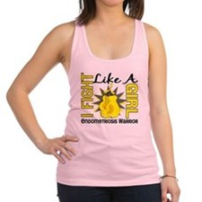 Fight Like A Girl Endometriosis Racerback Tank Top