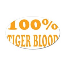 tigerbloodblack Wall Decal